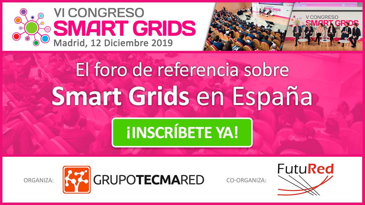 20191202 NP 6 Congreso Smart Grids COP25 inscripcion